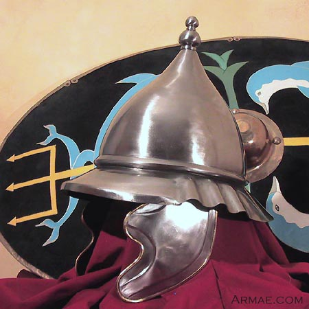 Mercenaires Galates pour les Lagides Casque_celte_tene_finale_HL190A